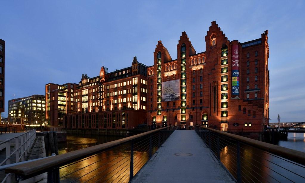 Hamburg; Maritimes Museum in der Speicherstadt