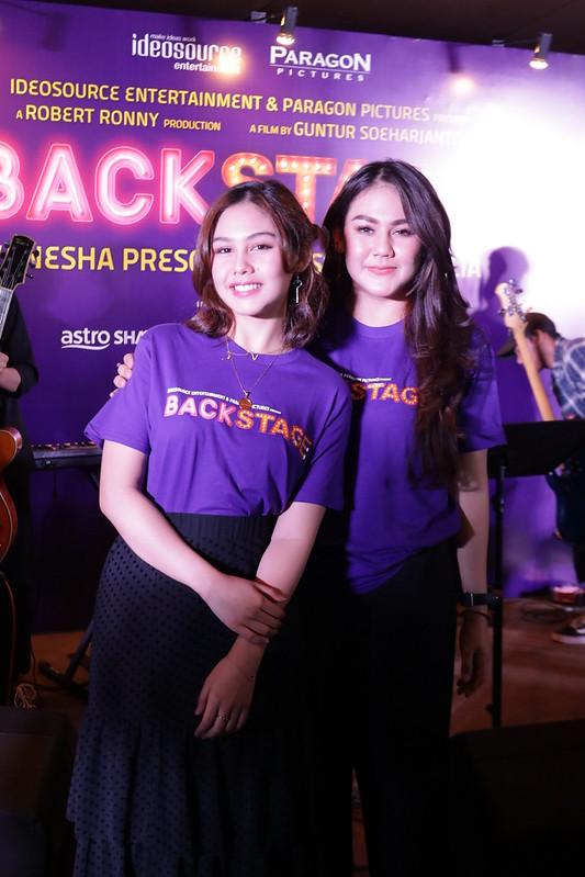 Dari kiri, Vanesha Prescilla, Sissy Priscillia