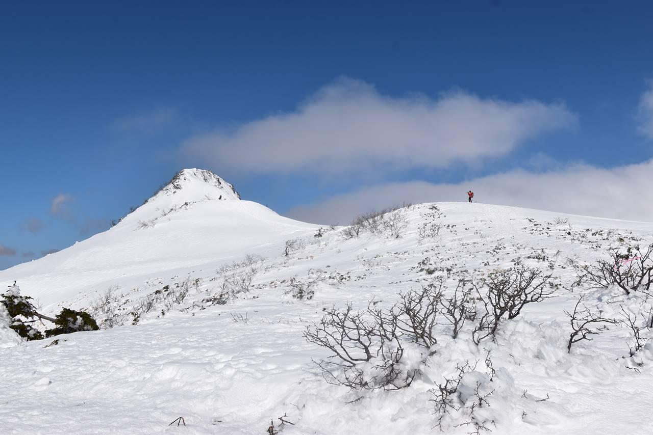 雪の上州武尊山・剣ヶ峰登山