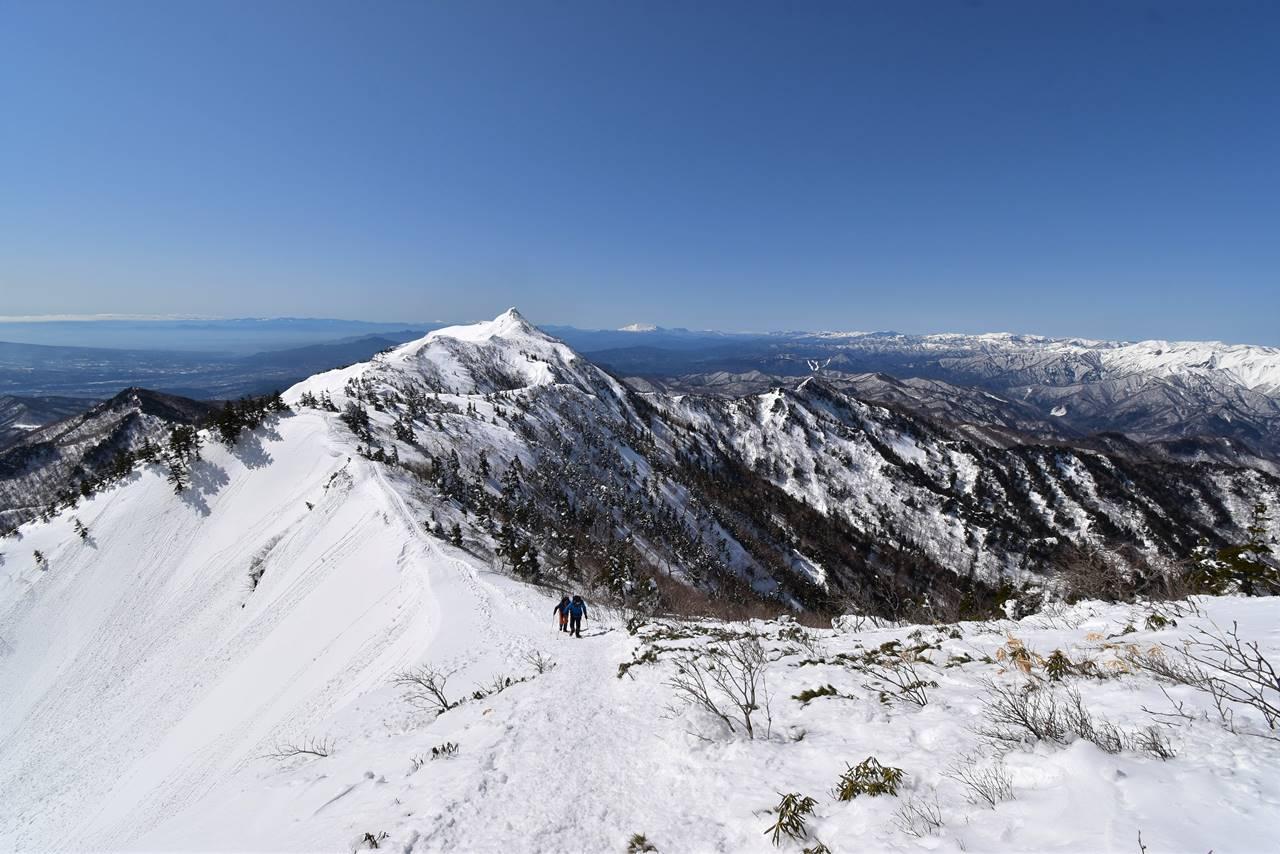 上州武尊山 雪山登山