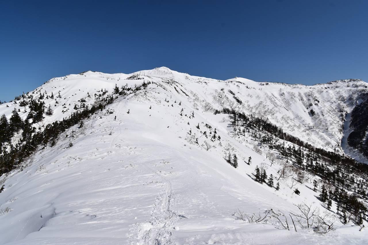 冬の上州武尊山 JRびゅうパッケージスキーツアーで行く雪山登山