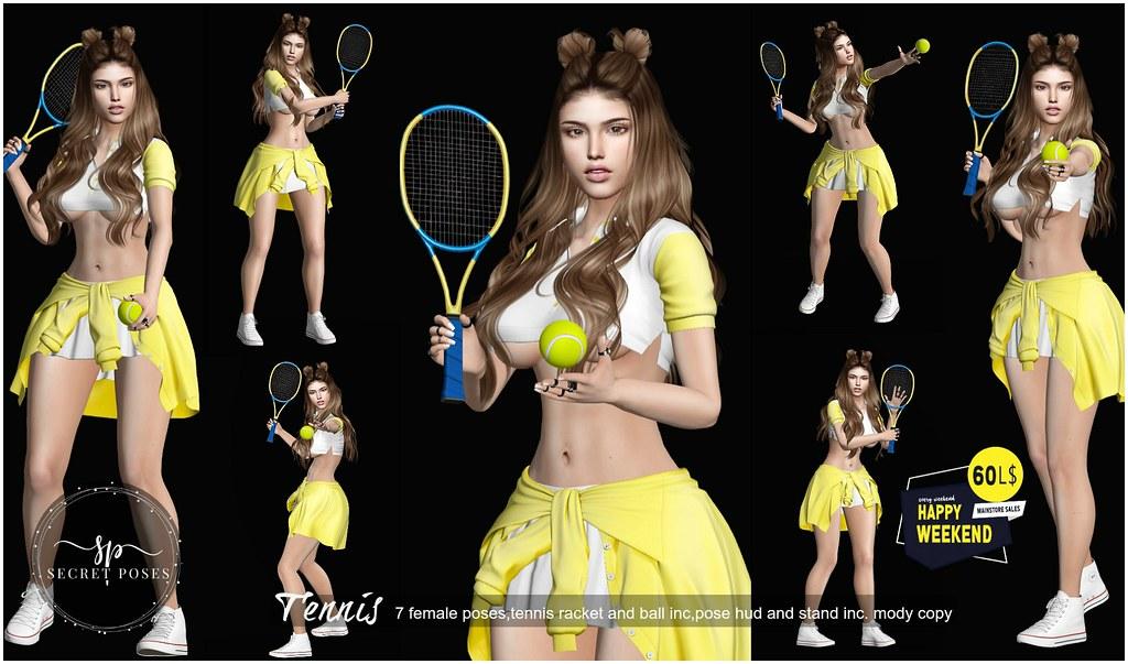Secret Poses - Tennis @ Happy Weekend