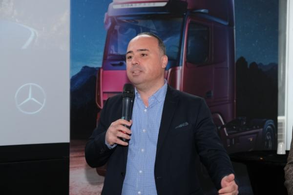 Mercedes-Benz Türk Kamyon Pazarlama ve Satış Direktörü Alper Kurt