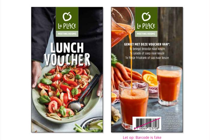 La Place lunchvoucher sample