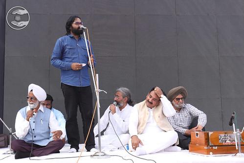 Rajinder Rajan Ji presented Punjabi Kavita