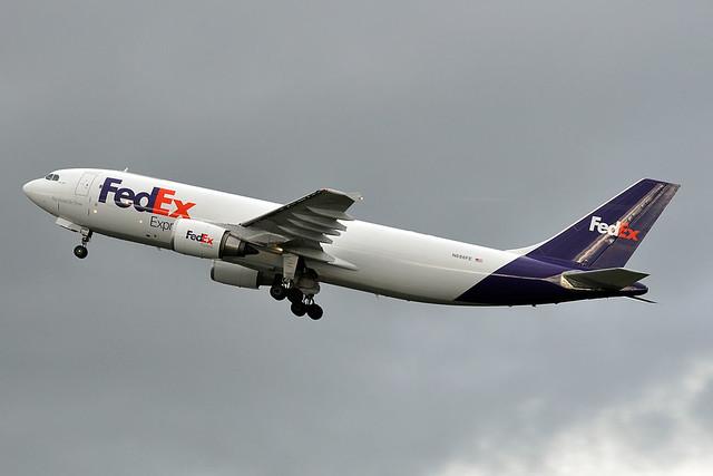 N686FE  A300F4-605R  FedEx