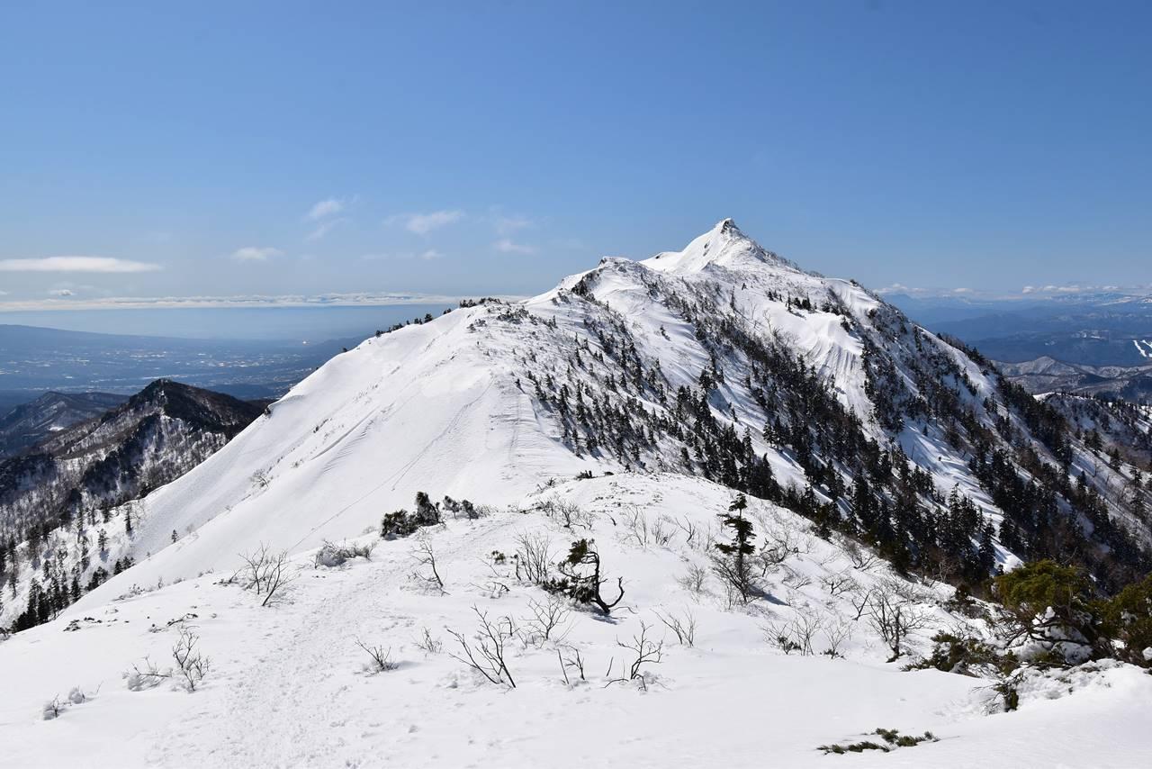 冬の剣ヶ峰