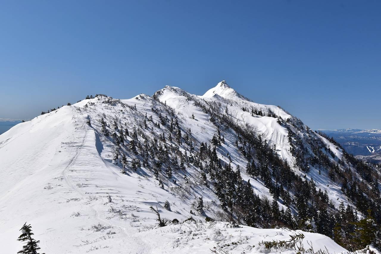 武尊山・剣ヶ峰