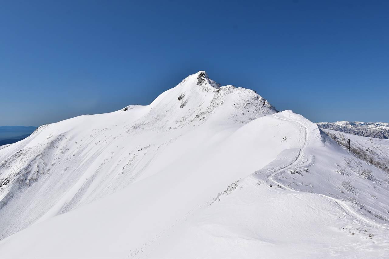 冬の上州武尊山・剣ヶ峰 日帰り雪山登山