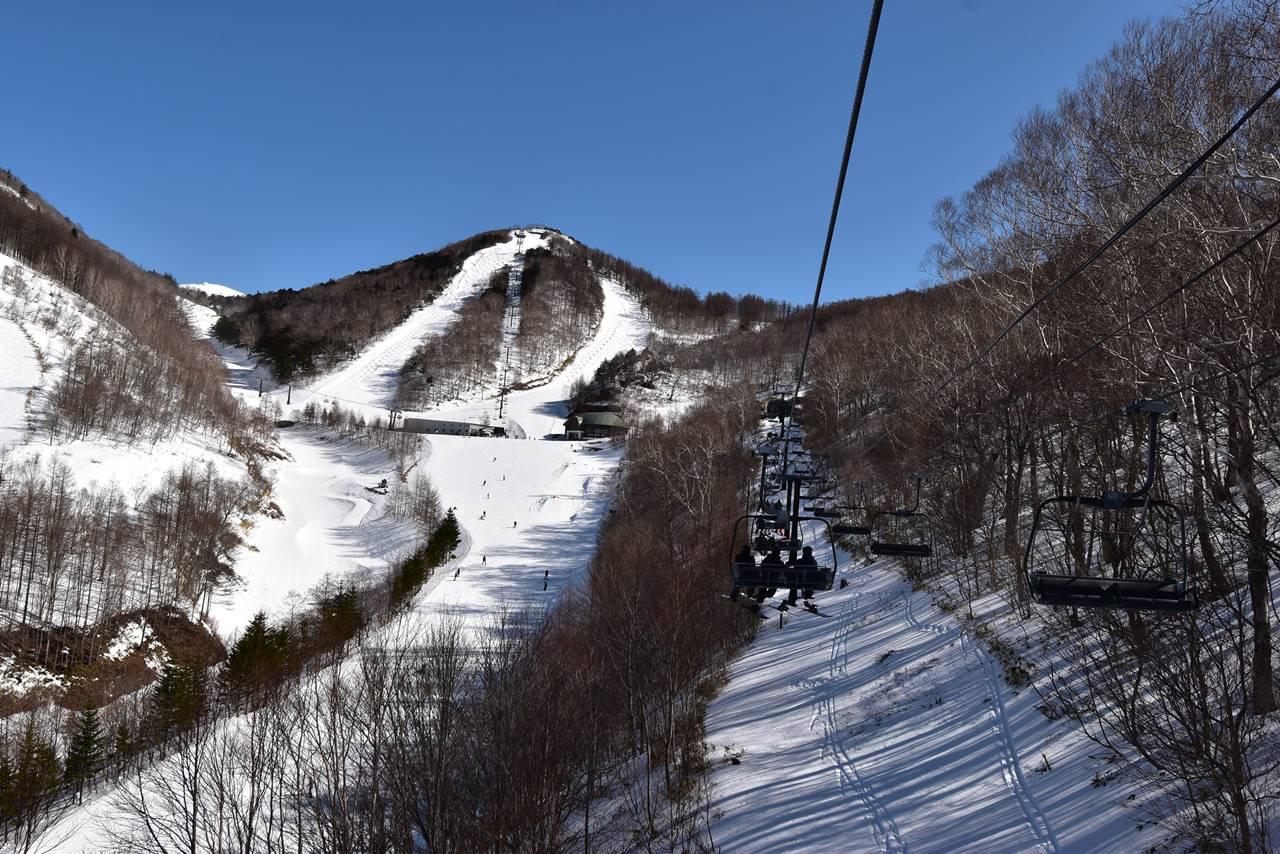 川場スキー場・リフト(桜川エクスプレス)