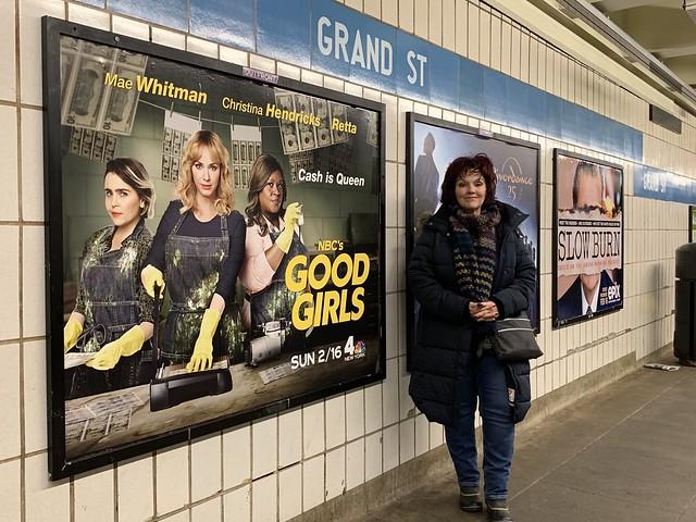 Grand St Subway NYC