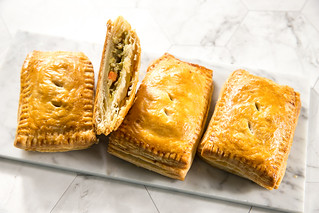 Baked Thai Green Curry Puff Pastries | by thewanderingeater