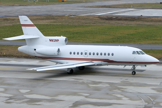 Private | Dassault Falcon 900B | N82RP | Zurich Kloten