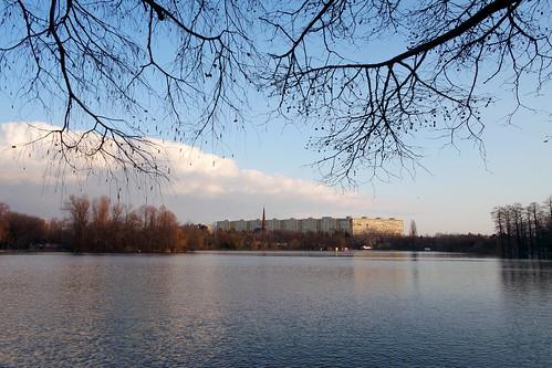 landscape sector3 românia bucurești ior titan park lake water outdoor urban nature colors samsungnxmini