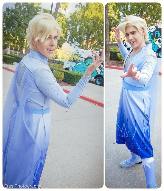 Anime LA 2020: Elsa from Frozen II