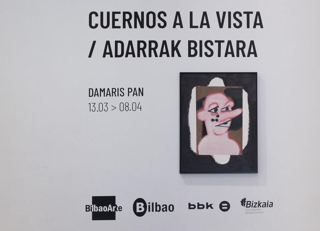 EXPOSICIÓN: «CUERNOS A LA VISTA / ADARRAK BISTARA» DAMARIS PAN