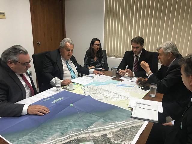 10/03/2020 Reunião Porto Meridional, Arroio do Sal -  Secretaria Nacional de Portos e Transportes Aquaviários (SNPTA)