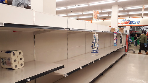 Halifax, Canada - Empty shelves with no toilet paper | by Indrid__Cold