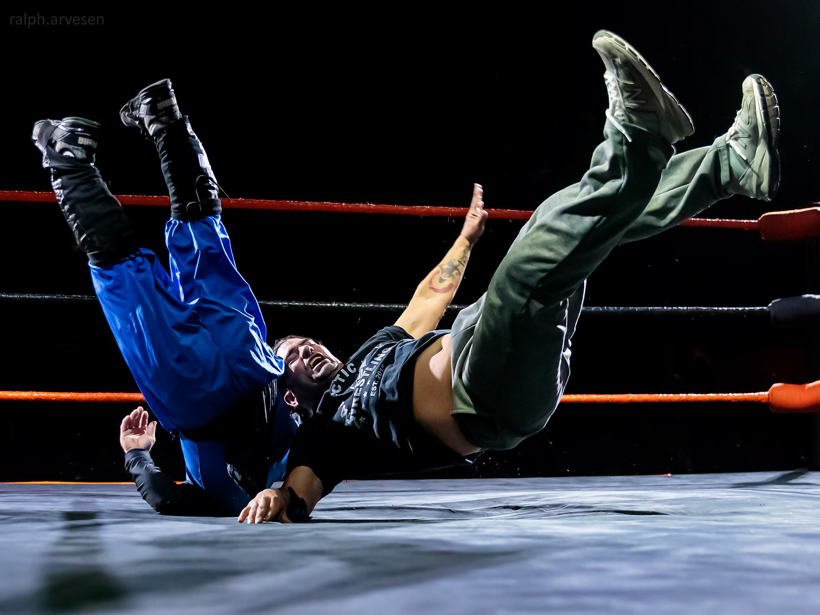 Midget Wrestling | Texas Review | Ralph Arvesen
