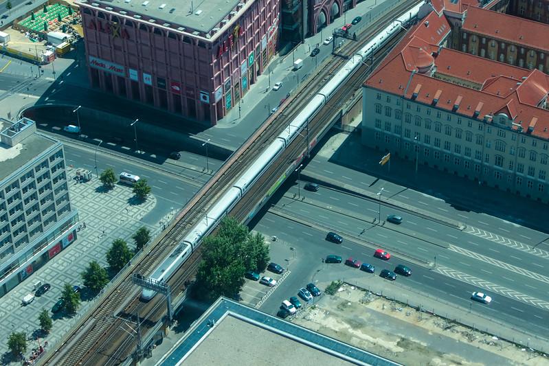 Die Stadtbahn an der Grunerstraße