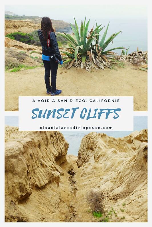 Sunset Cliffs Canva pour Pinterest