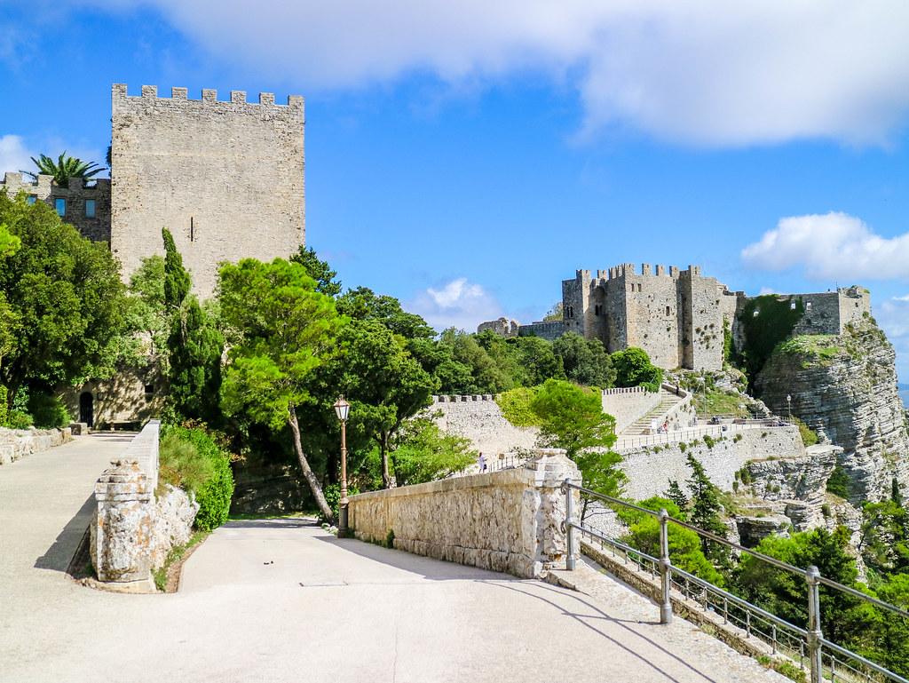 Castillo di Venere en Erice