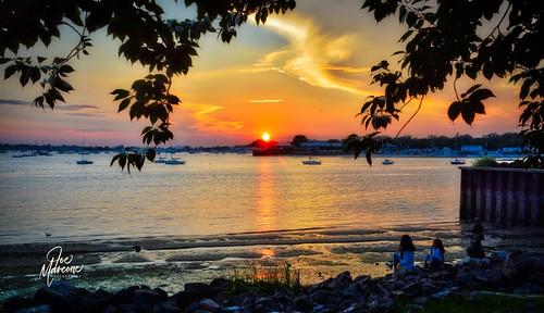 portwashington sunset longisland