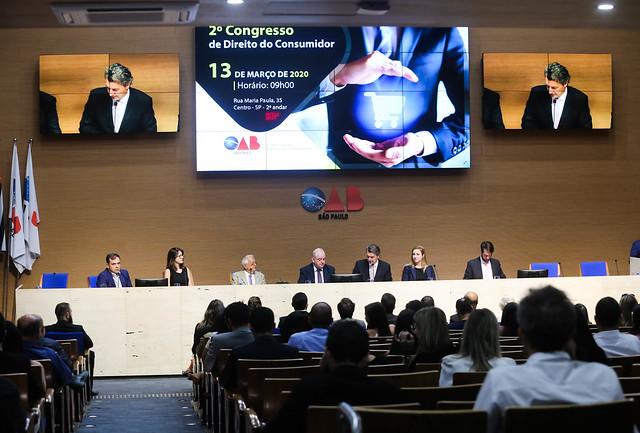13.03.2020- Cerimônia de posse da Comissão de Defesa do Consumidor e II Congresso Estadual de Defesa do Consumidor