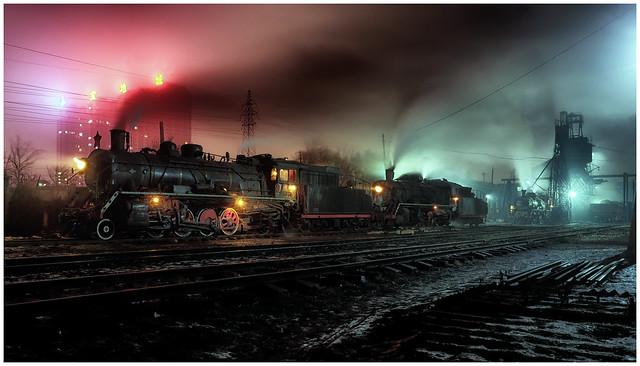 Fuxin Night Steam