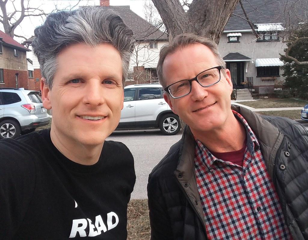 David Rider and me
