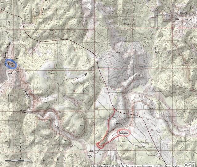 InkedBurro Creek Area