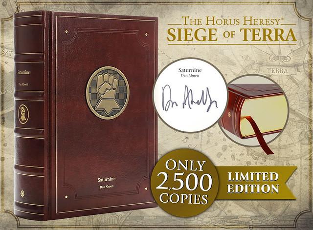 Дэн Абнетт «Осада Терры: Сатурнин» | Saturnine (Limited Edition)