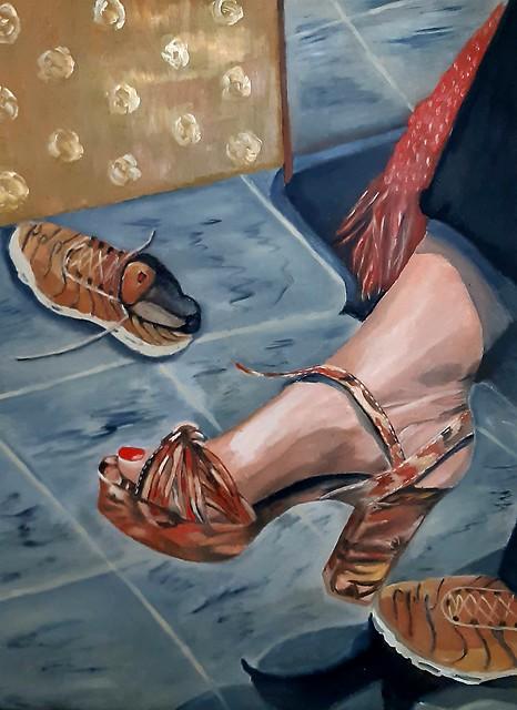 פרידה פירו Frida piro ציירת ישראלית אמנית מודרנית עכשווית ריאליסטית ירושלמית ציירות אמניות מודרניות עכשוויות אמנות ויזואלית אמנות פלסטית