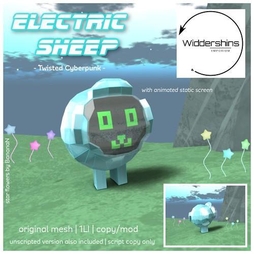 Widdershins - Electric Sheep [Twisted Cyberpunk Edition]