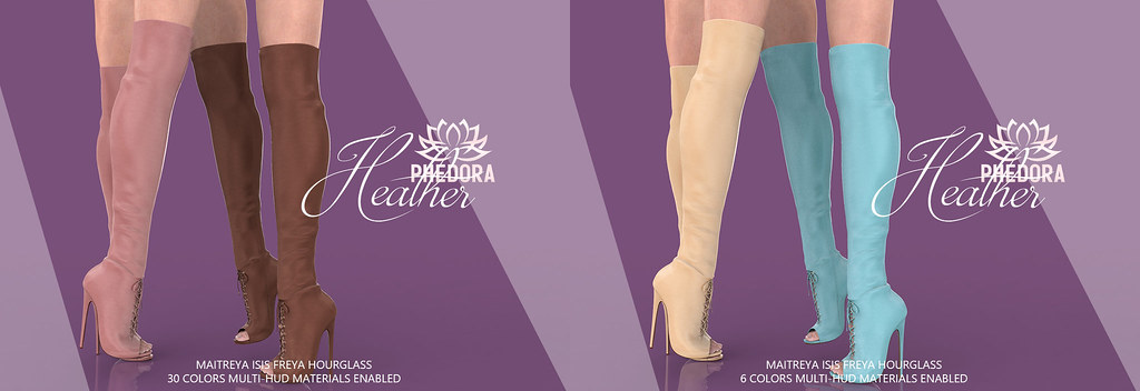 """Phedora for Access ~ """"Heather"""" Boots ♥"""