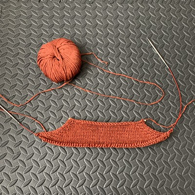 I knit my swatch and cast on my Antonia by Cocoknits for the Cardigan Class that starts tomorrow morning with Kathy.