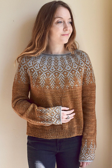 Jennifer Steingass's new patterns is Goldwing