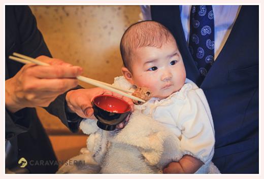 日本料理やまと(名古屋の有松)でお食い初め・100日祝い