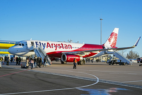 ppk uacp aircraft airport airplane airliner apron airbus airastana flyarystan 320232 p4kbe 5968 jet cavok lowcoster