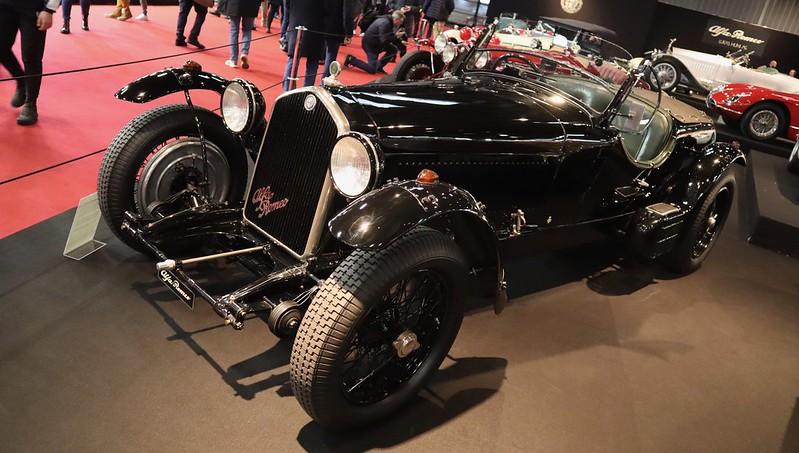 Alfa romeo 2300/8C Supercharged Touring Le Mans 1934 49656620322_0cf9e1f2c4_c