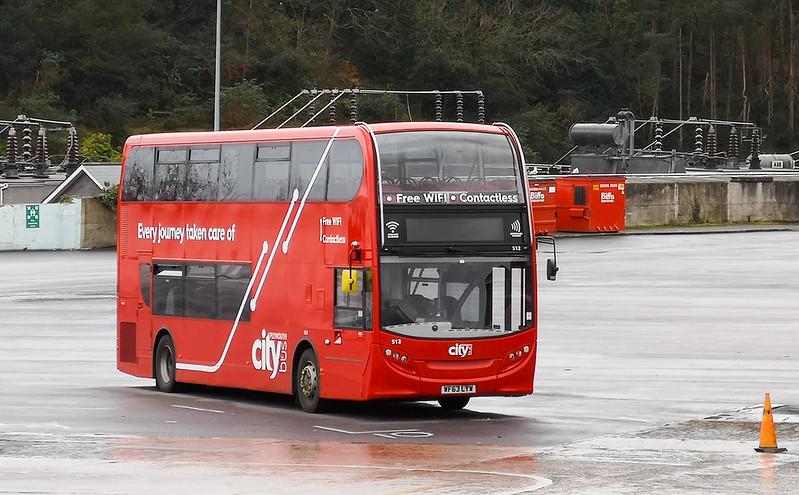 Plymouth Citybus 512 WF63LYW
