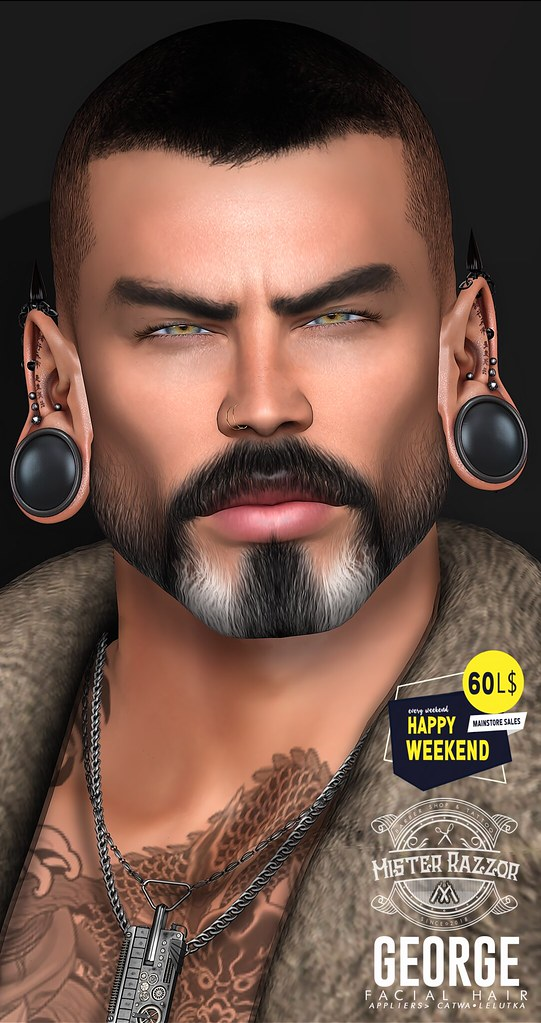 ((Mister Razzor)) George Facial Hair