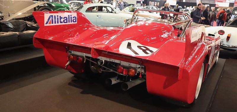 Alfa Romeo tipo 33T3 Autodelta - Retromobile Paris 2020 49657103073_b9a094f209_c