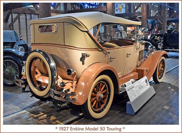 1927 Erskine Model 50 Touring