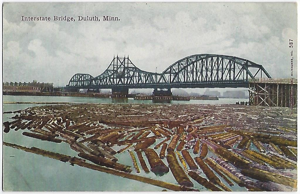 Interstate Bridge. Duluth, Minn.