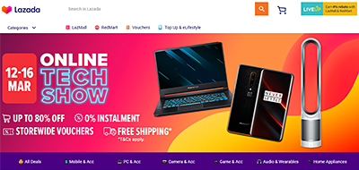 The top 50 spenders during Lazada's Online Tech Sale will stand a chance to win over $16,000 worth of prizes, which include a Yale Digital Door Lock (worth $1,059), Samsung Digital Door Lock (worth $888), Vivo Smart Phone (worth $710), LG 43-inch TV (worth $599), Braun Electric Shaver (worth $549), and more!