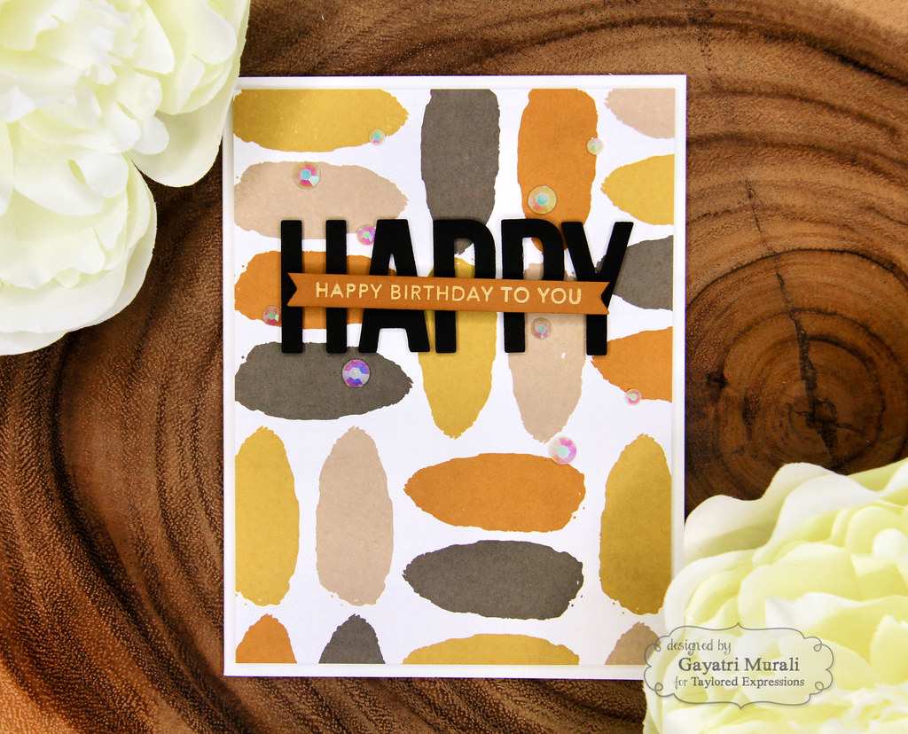 Color Combo #1 card Happy1