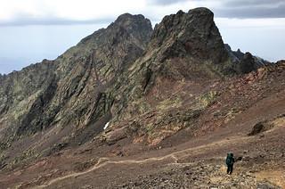 towards Refuge de Tighiettu