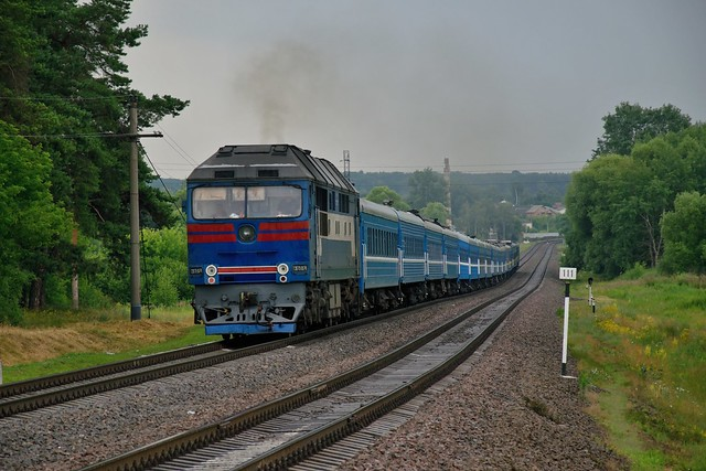 UZ/Уз ТЭП70 0174 | Train 100 | UKRAINE
