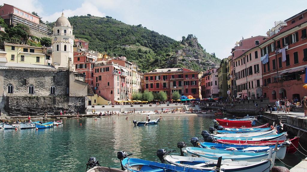 Cinque Terre Vernazza Italia